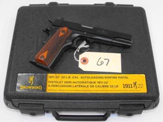 (R) Browning 1911-22 22 LR Pistol