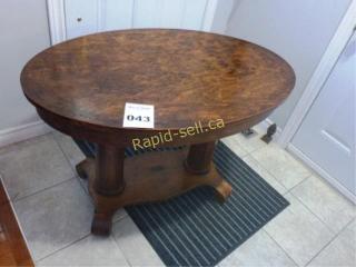 Pedestal Hall Table