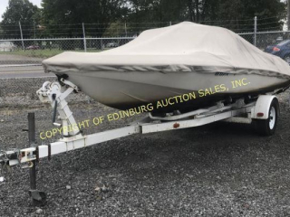 1975 GLASTRON CARLSON 19' CLOSD BOW SPEED BOAT