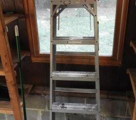 Werner 6ft ?A? frame Aluminum ladder