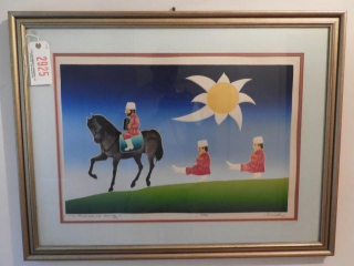 ?The Russians are Coming? framed print