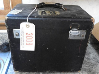 Vintage singer featherweight sewing machine