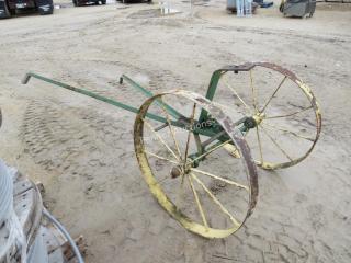 Horse Drawn Equipment: Sulky