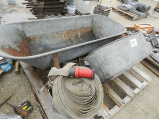 Galvanized Tubs, Fire Hose
