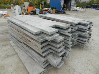 Fiberglass Reusable Concrete Forms