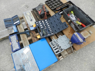 Tap & Die Sets, Vise, Extraction Tool, Charger,