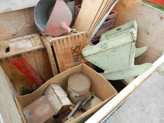 Wooden Boxes, Collectibles, Sinks, Amp, Pail