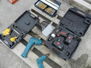 Drill Bits, Drills, 18 GA Brad Nailer