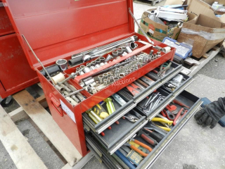 Sears Craftsman Tool Box w/ Tools