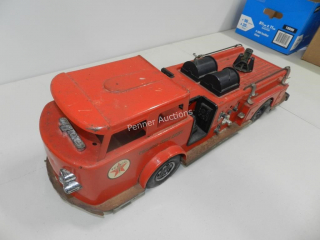 Collectible Toys: Metal Fire Truck