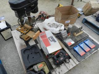 5 Speed Drill Press, Speed Drill, Cut-out Tool,