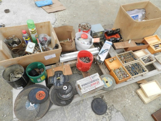 Cutting Blades, Fuses, Clamps, Hardware, Misc