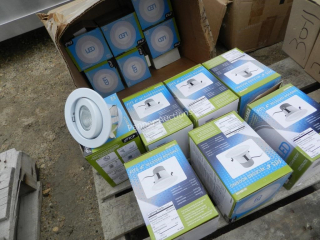 Qty TCP Dimmable Recessed LED Light Housing
