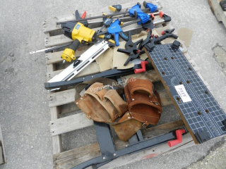 Workmate, Clamps, Framing Nailer, Tool Belt