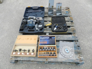 Router, Drill, Router Bits, Dado Blade