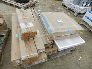 Pallet of lights, Bulbs & Protectos