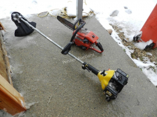 Homelite Chain Saw, McCulloch 284S Trimmer