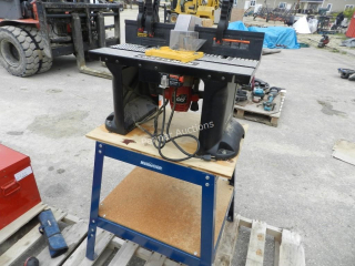 Skil Router, Craftsman Table, Mastercraft Stand