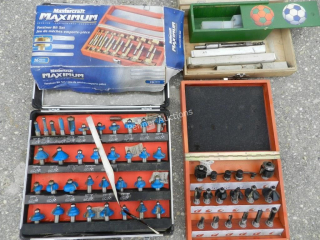 Qty of Router Bits, Maximum 16PC Forstner,
