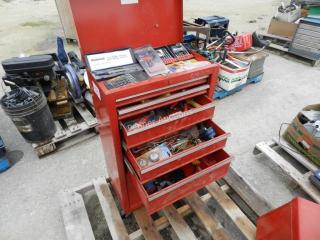 Rolling Tool Box w/ Tools
