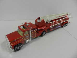 Collectible Toys: Metal Ladder Truck