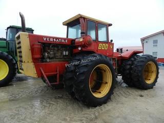 800 Versatile 4WD Tractor