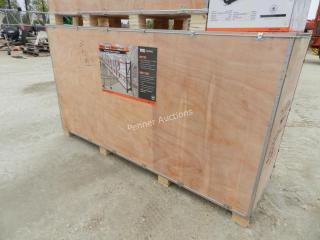 (6) 39 Linear Feet HD Warehouse Shelving Racks