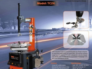 Heavy Duty Tire Changer *Possible freight damage*