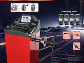 Heavy Duty Wheel Balancer c/w: 110v 60 hz