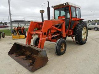 Allis Chalmers 190 Tractor Loader, 3PTH