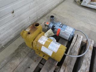 (2) 1/2HP Water Pumps