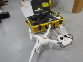 DJI Phantom 4 Quadcopter Drone, 4K w/ Controller