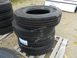 Unused 11R22.5 16PR Annaite Tires 366