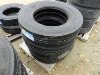 Unused 11R24.5 16PR Annaite Tires 366