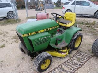 John Deere 216 Riding Lawn Mower