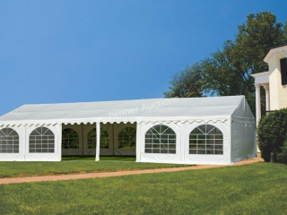 20Ft x 40Ft Full Closed Party Tent, C/W: 800 sq.ft
