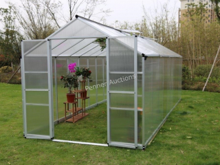 8Ft x 20Ft Twin Wall Green House
