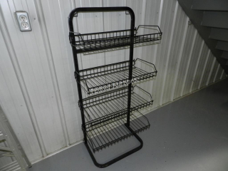 (12) Display Racks - Metal
