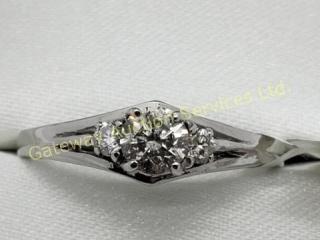 14K  Diamond (0.35ct) Ring