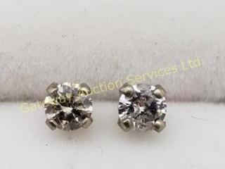 14K  Diamond Stud (Si1 - Si2)(0.35ct) Earrings
