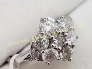 14K  9 Diamond (Si-1)(1.5ct) Ring
