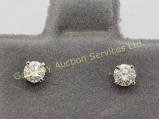 14K  Diamond Stud (0.18ct) Earrings