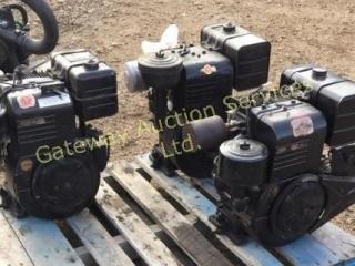 Briggs& Stratton motors 12Hp,9Hp and 13Hp