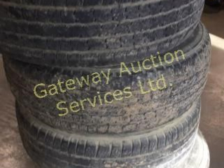 Geo-Track M+S Tires and Rims Size LT 255/70R16