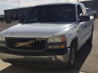 2001 GMC C1500 Sierra 2wd Ext Cab