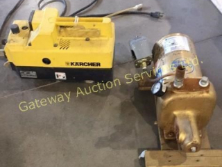 Karcher Pressure No Nozzle and 3 HP Jet Pump
