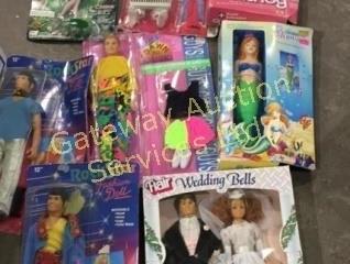 Rock Star Fashion Dolls, Flair Wedding Dolls,