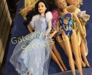 Assorted Barbies