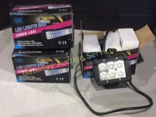 4 - 18 Watt LED Light Bar