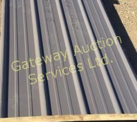 Charcoal Grey Sheet Metal for Roofing